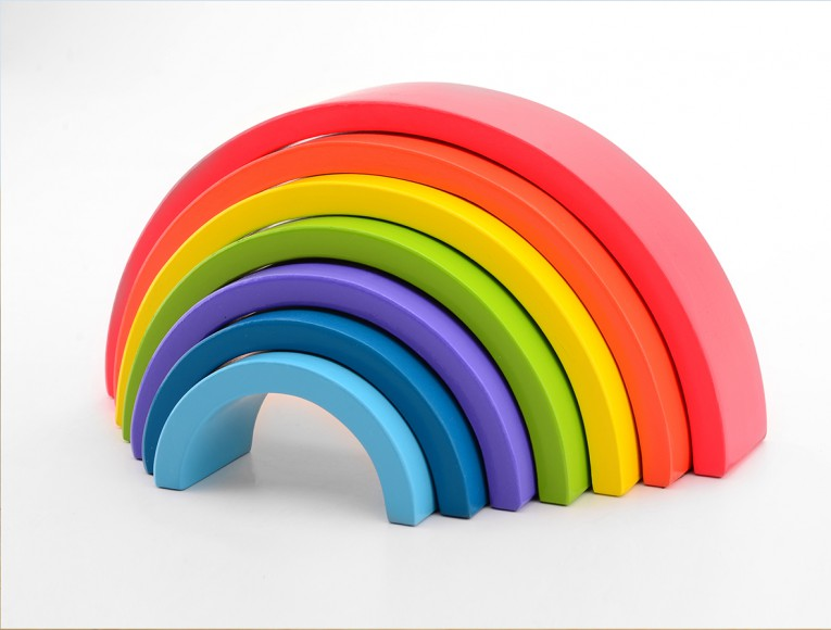 Rainbow 7 pieces