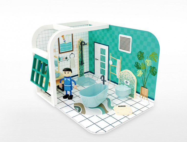 Bathroom playset